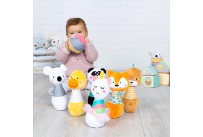 Sus primeros juguetes: desde el nacimiento hasta los 18 meses