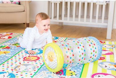 La importancia del gateo de tu bebé