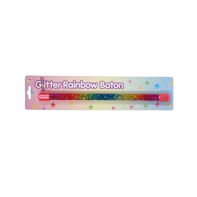 Glitter Rainbow Baton